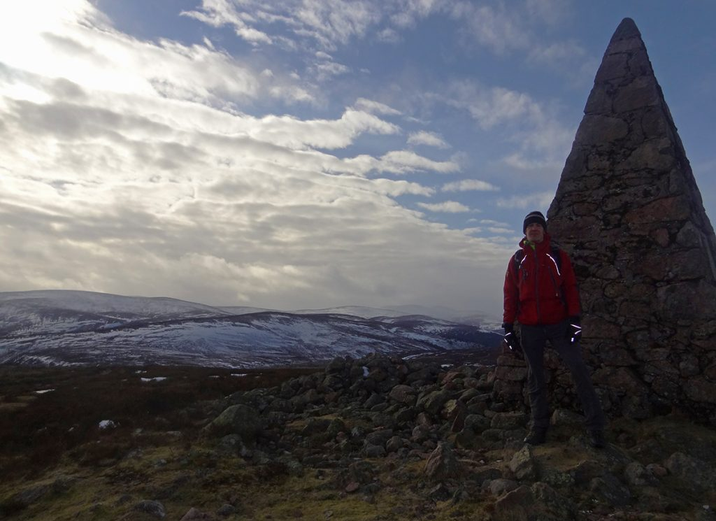 Yours truly on top of Carnferg