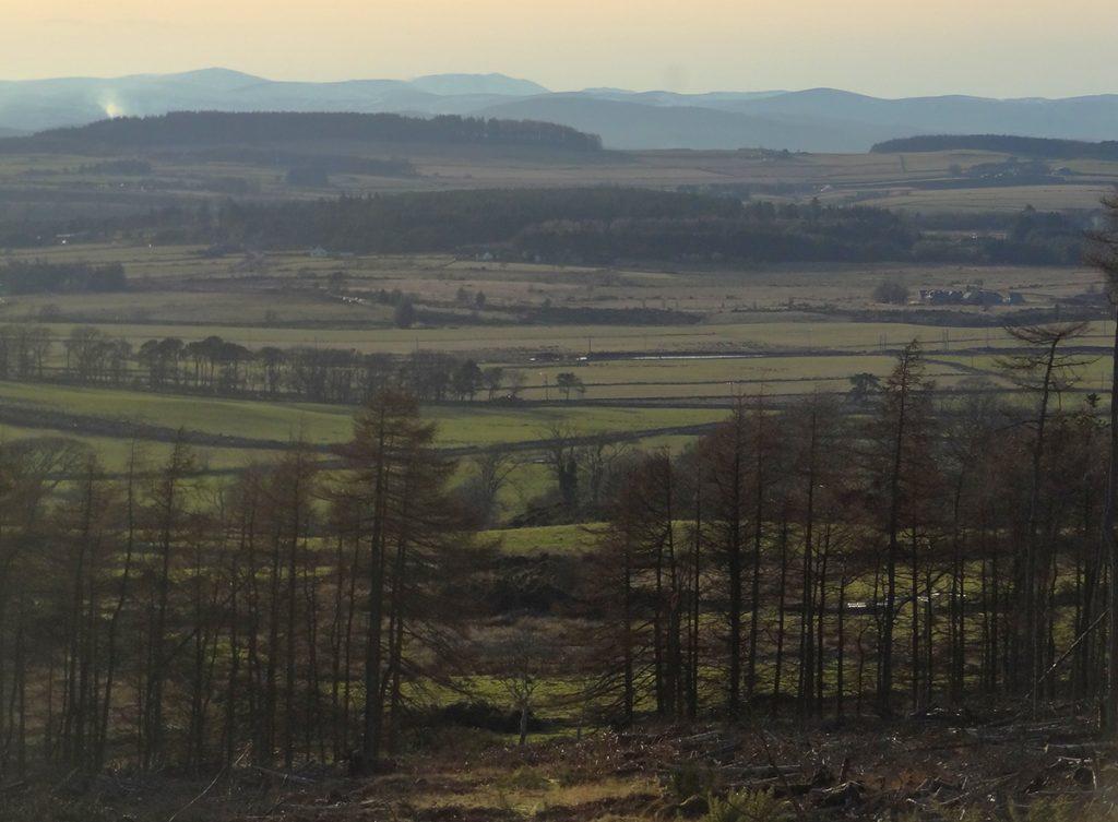 View West from Clochandighter