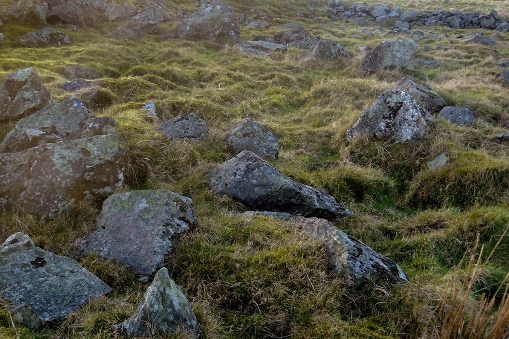 Rocks below Hill of Auchlee