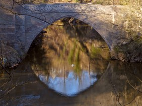 Brig O'Balgownie reflected
