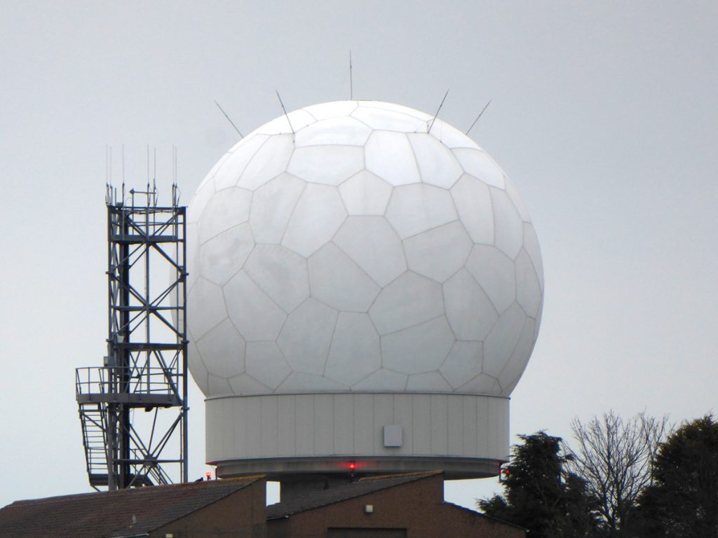 Perwinnes Hill radar station