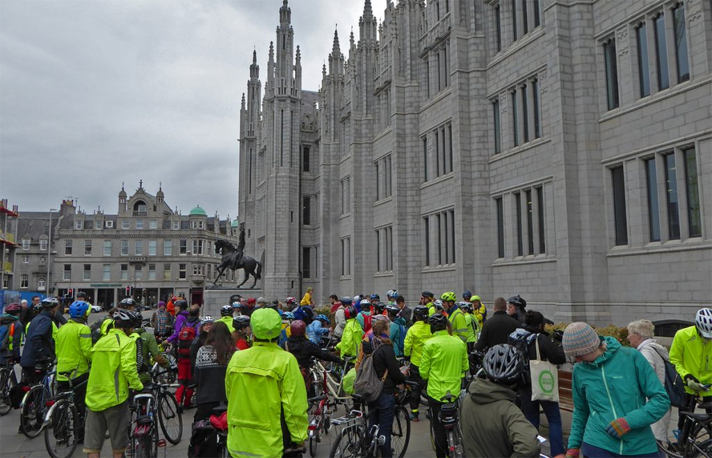 Good turnout for Pedal on Parliament