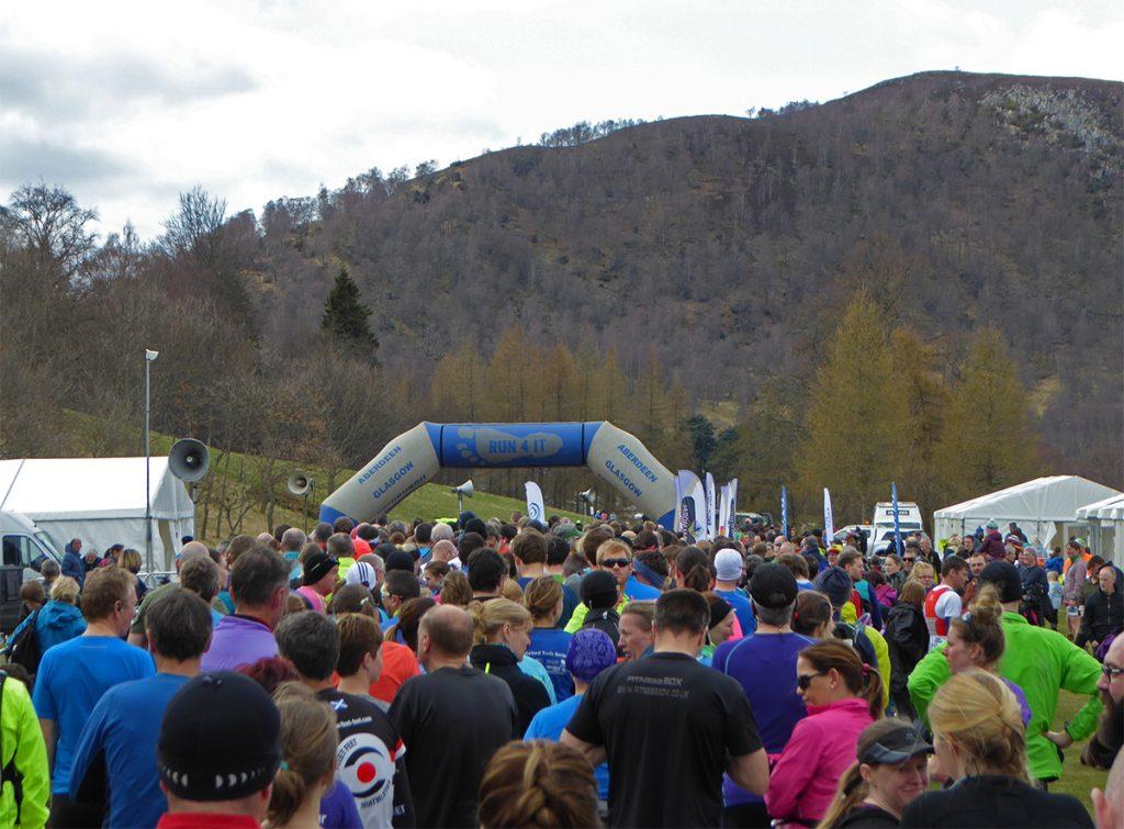 15-miler start