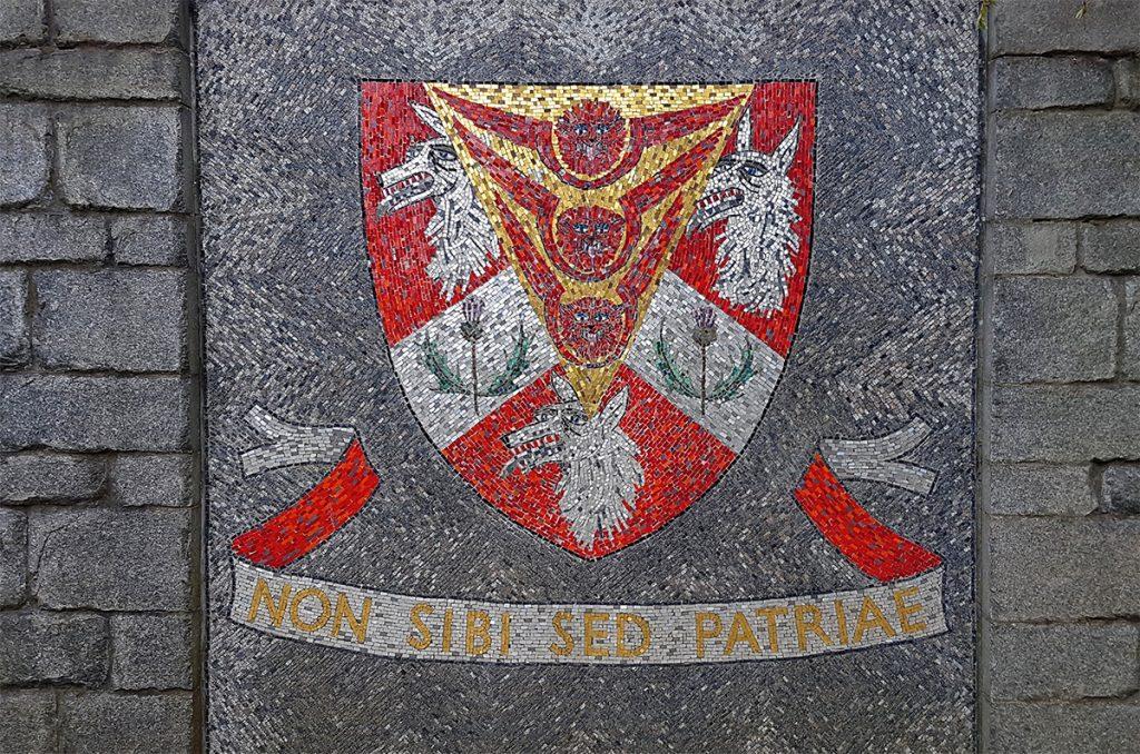 MacRobert memorial garden mosaic