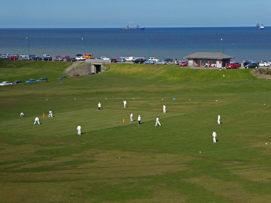 Cricket at the links