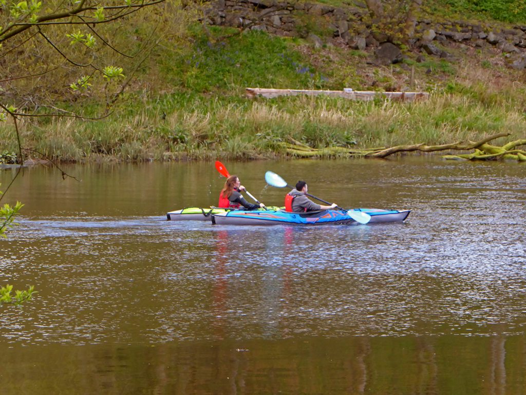 Kayaking on The Don