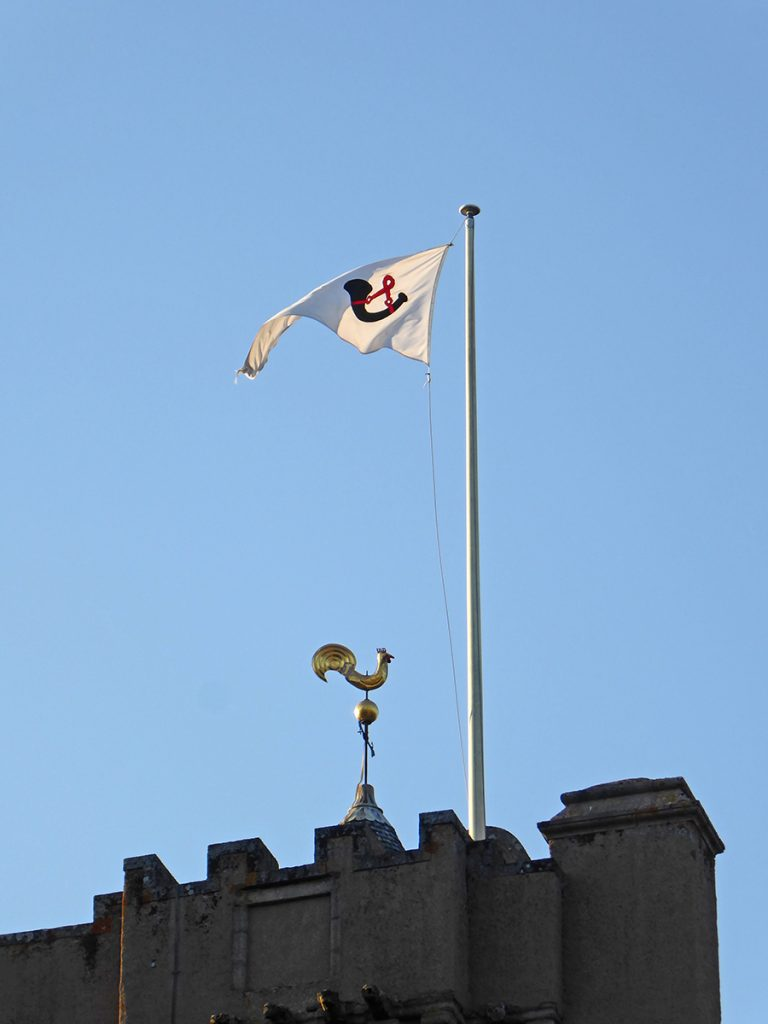 Crathes Castle flag