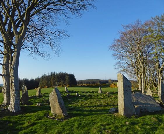 Tyrebagger stone circle