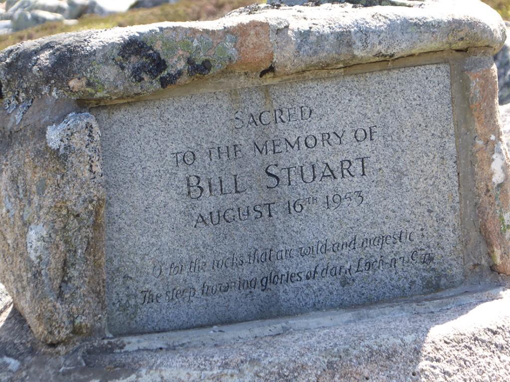 Bill Stuart memorial