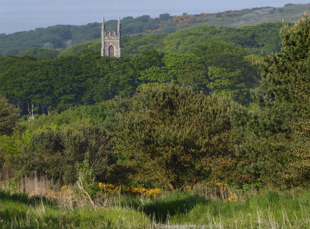Nigg kirk from Kincorth Hill