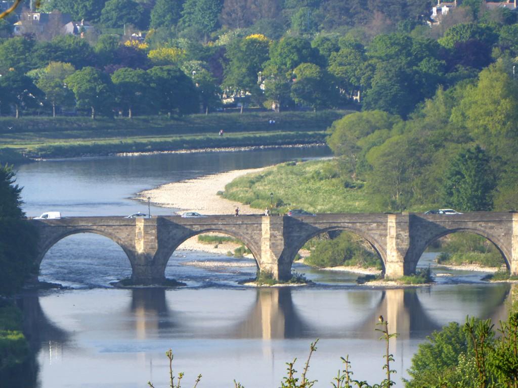 Dee bridge from Tollohill