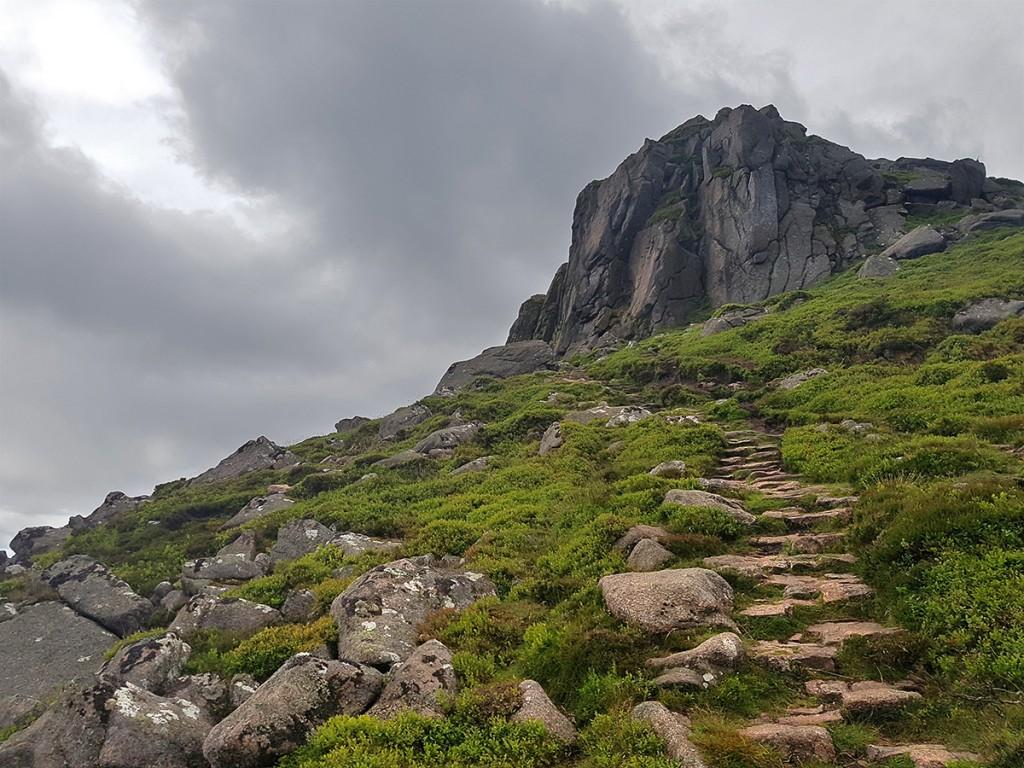 Clachnaben steps