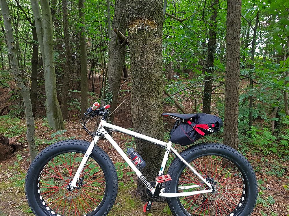 Seaton park fat bike