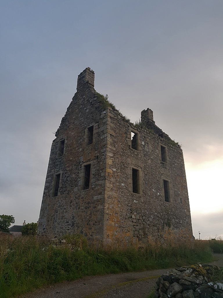Knockhall Castle from SE
