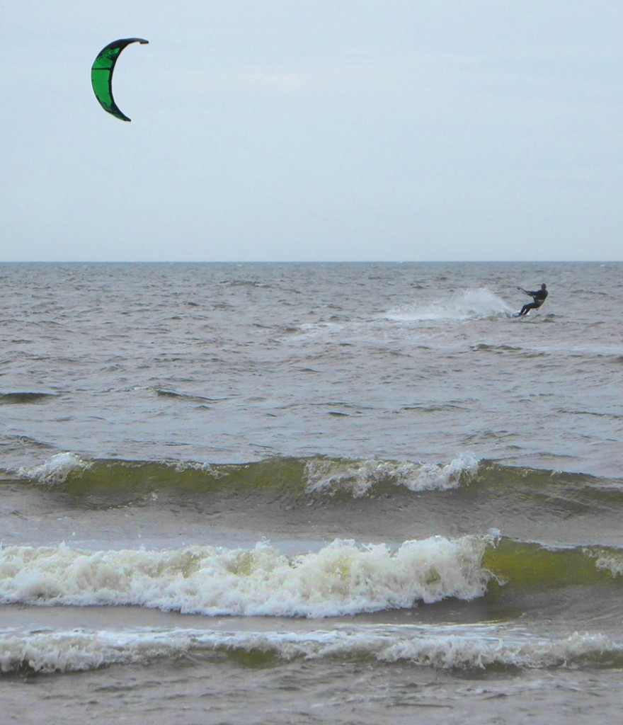 Kite surfer balmedie