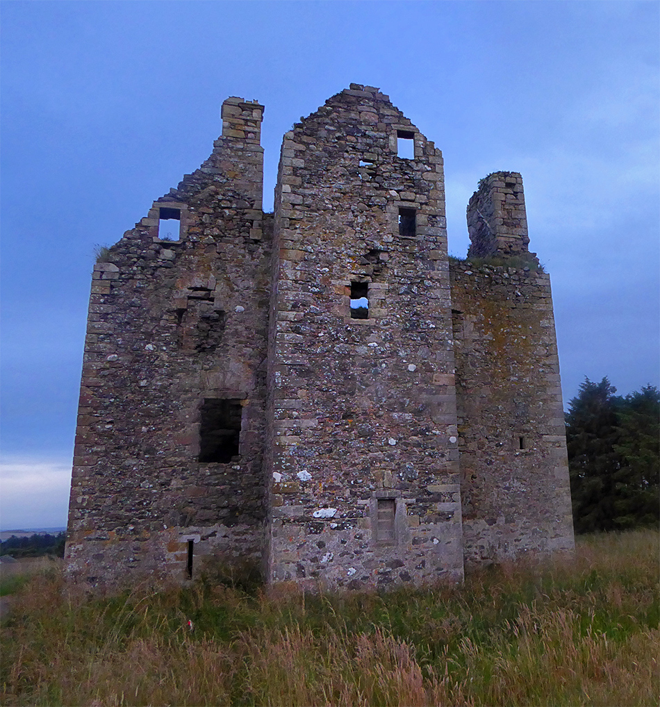 Knockhall Castle from NE
