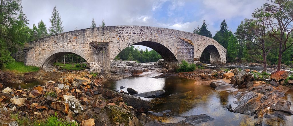 Old Bridge of Dee, near Invercauld