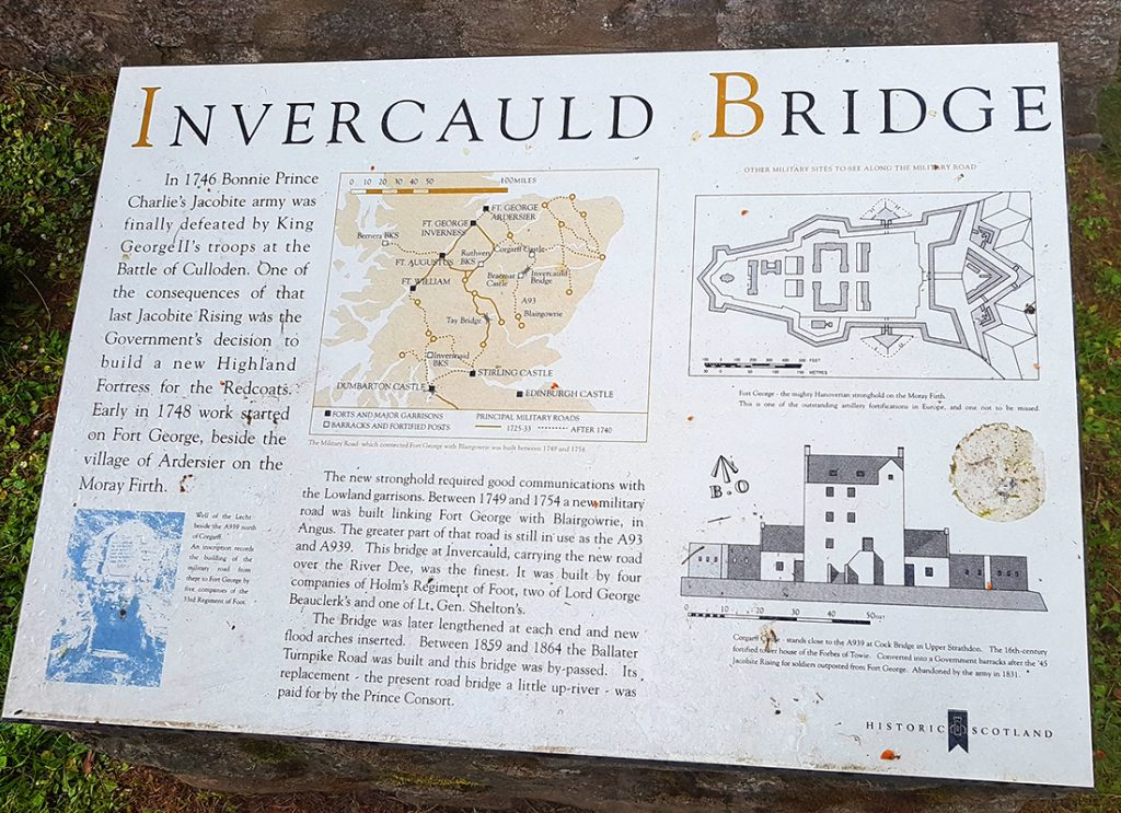 Bridge information board